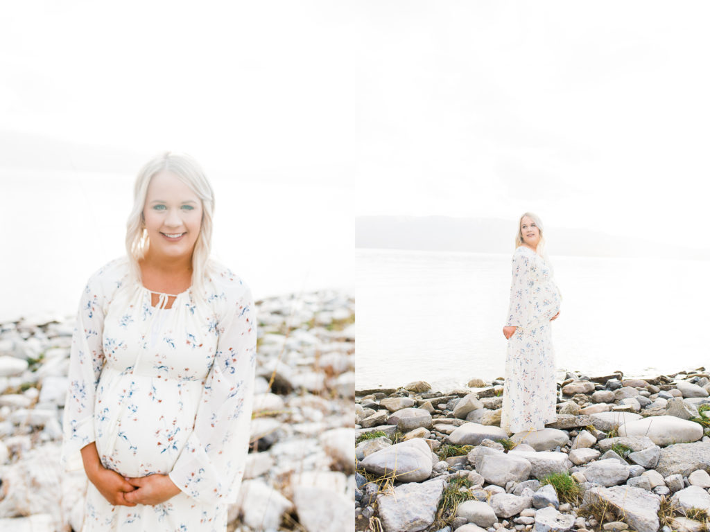 Truly Photography | Utah Lake | Utah Maternity Photographer