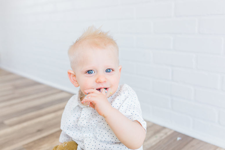 Baby I | Cake Smash | Utah Family Photographer