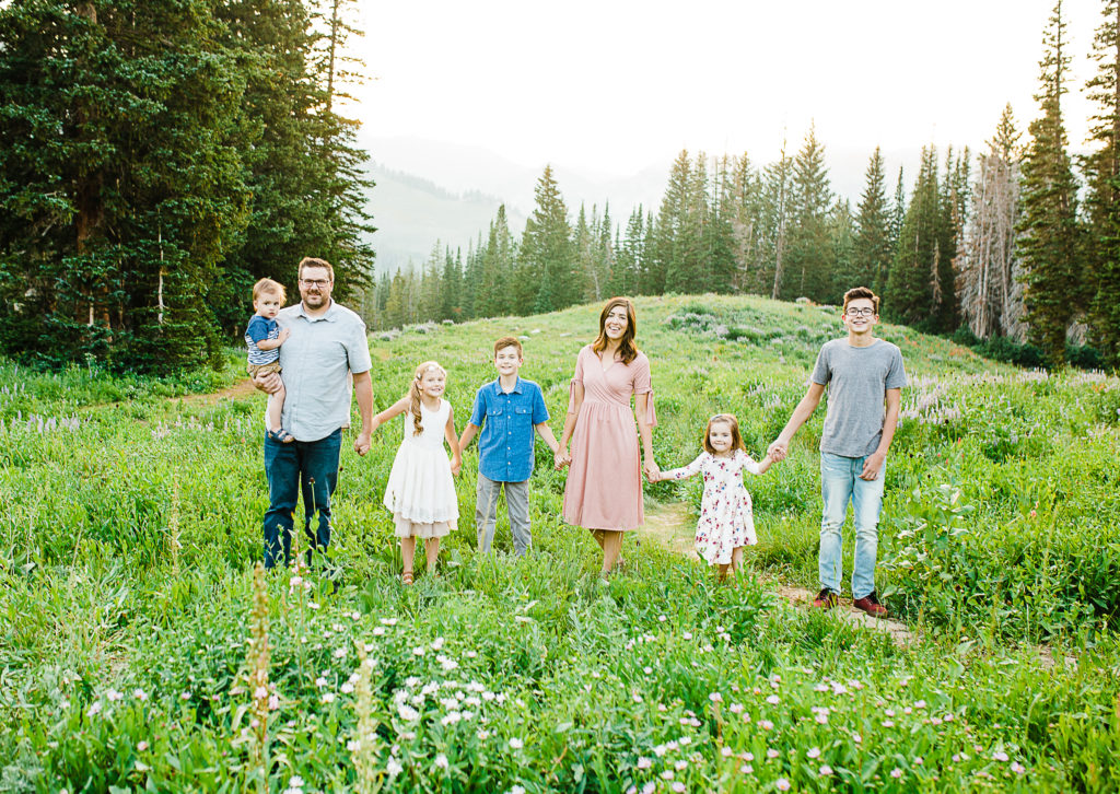 Albion Basin Pictures | Charlesworth Family