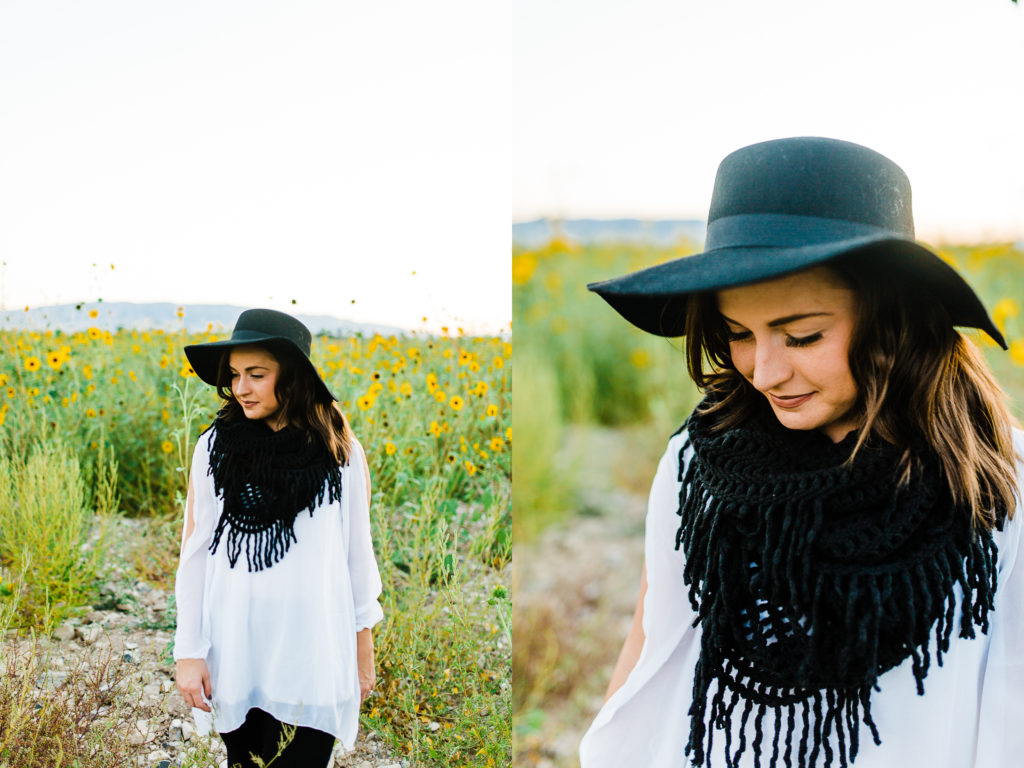 Sunflower Portrait Session | Mckenna