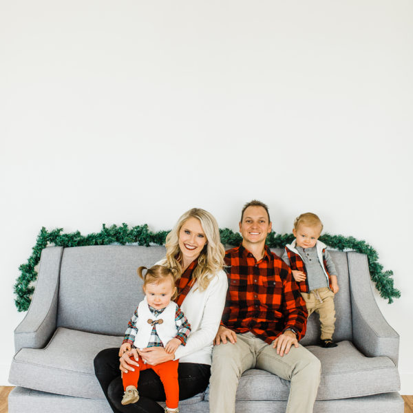 Studio Christmas Pictures | Utah Photographer