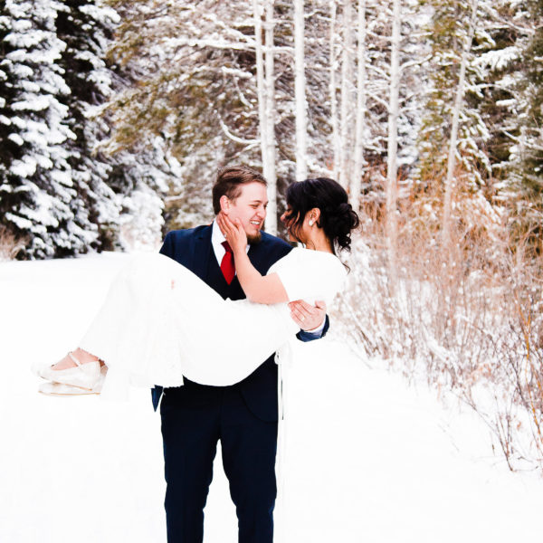 Winter Wedding | Utah Wedding Photographer | Truly Photography