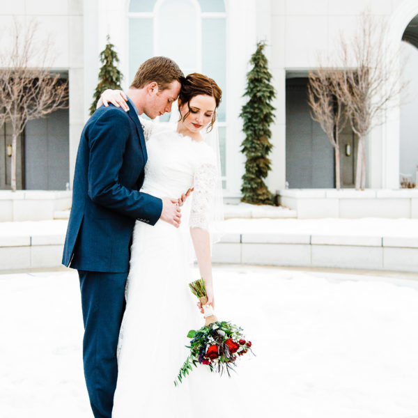 Smith | Mt. Timpanogos Temple Wedding | Utah Wedding Photographer