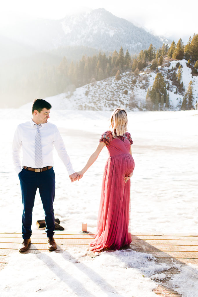 Whitney Utah Maternity Photographer Tibble Fork