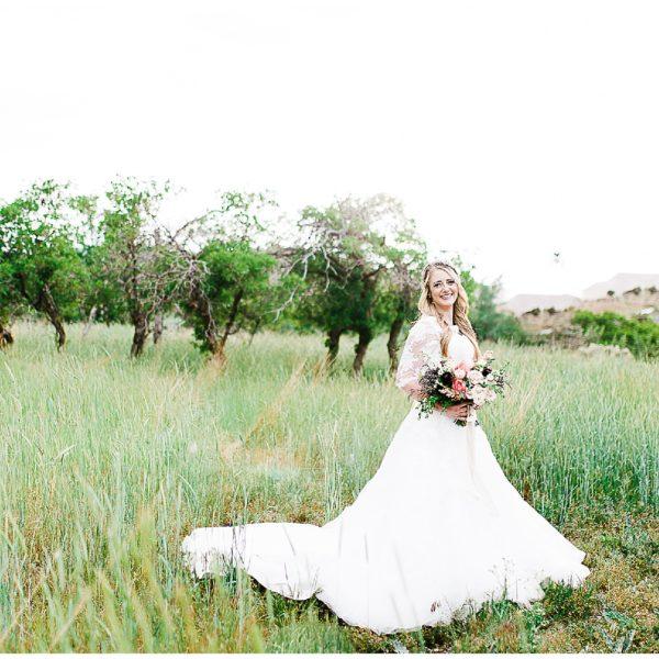 Kyle + McCall | Herriman Cove Bridals | Utah Wedding Photographer