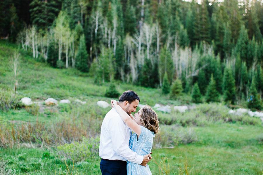 Randon + Megan | Jordan Pines Engagement Session | Utah Wedding Photographer
