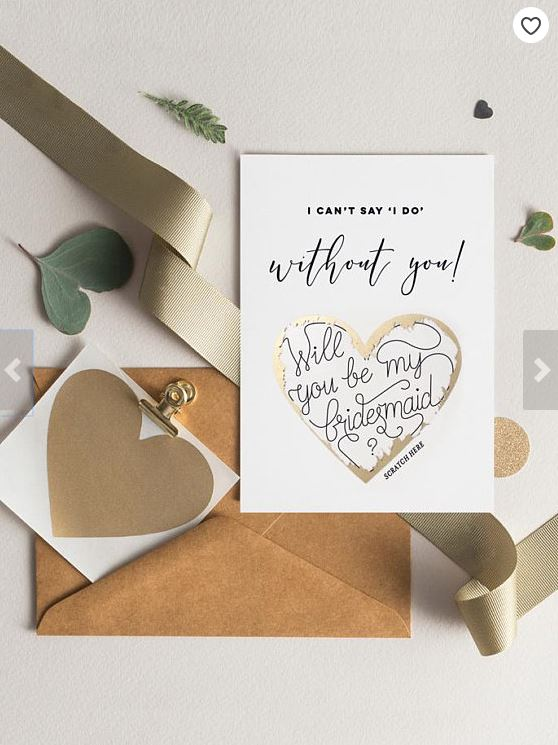 """5 Adorable Ways to Ask """"Will You Be My Bridesmaid?"""" 