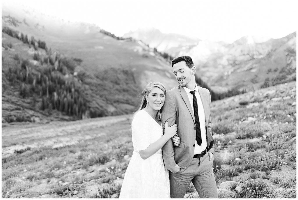 Sarah + Caleb | Albion Basin Bridals | Utah Wedding Photographer