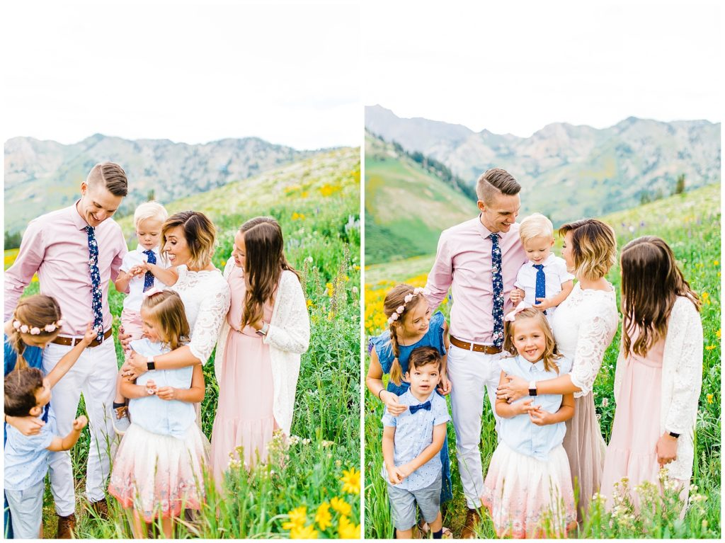 Harmon | Albion Basin Family Pictures