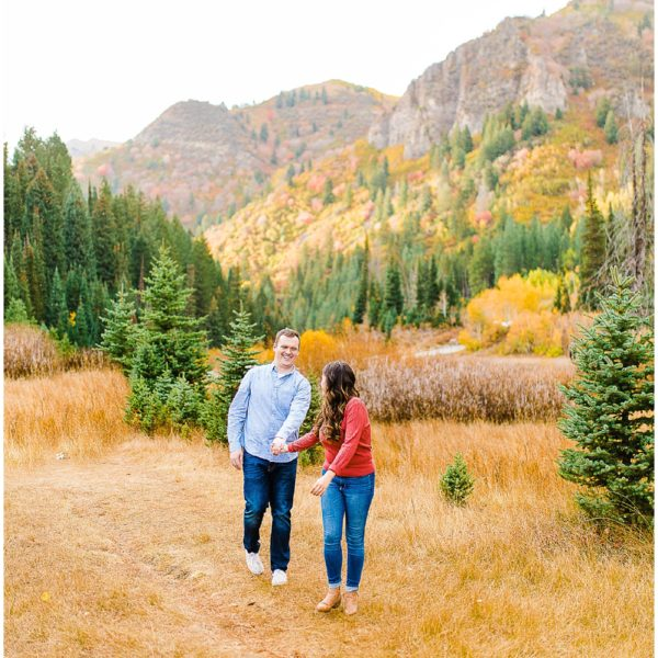 Patrick & Nicole | Big Cottonwood Canyon Engagement Session | Utah Wedding Photographer