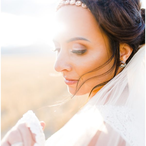 Kadi | Stormy Bridal Session | Utah Wedding Photographer