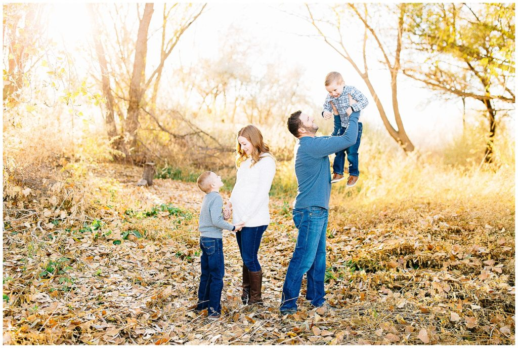 Filas| Loch Lomond Pond Family Pictures | Utah Family Photographer