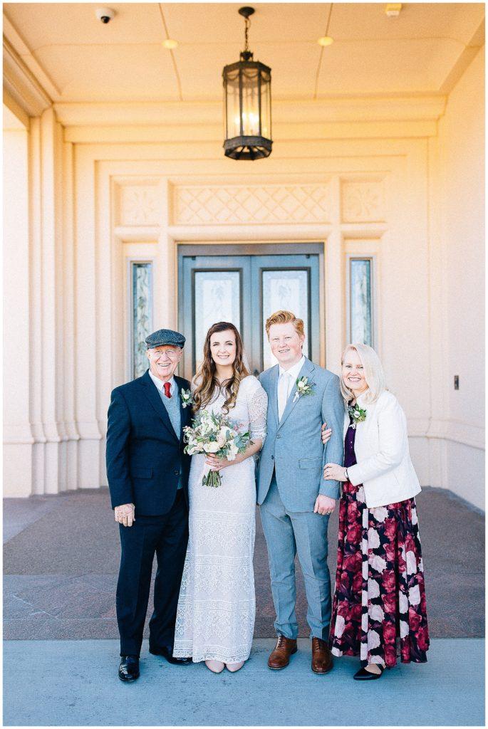 Calvin + Sydney | Payson Temple Wedding | Sun River Gardens Reception