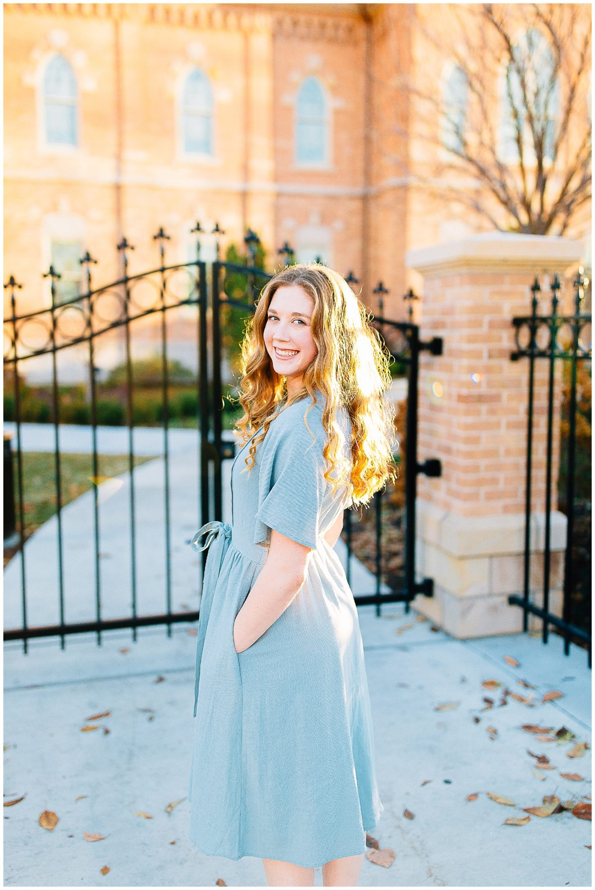 Provo City Center Temple Missionary Pictures   Utah Photographer