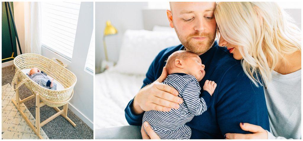 Baby B | Lifestyle Newborn Session | Utah Newborn Photographer