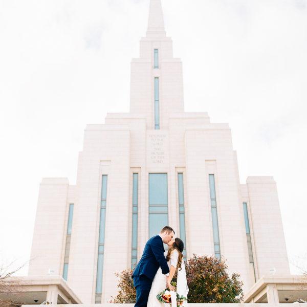 Patrick + Nicole   Oquirrh Mountain Temple Wedding