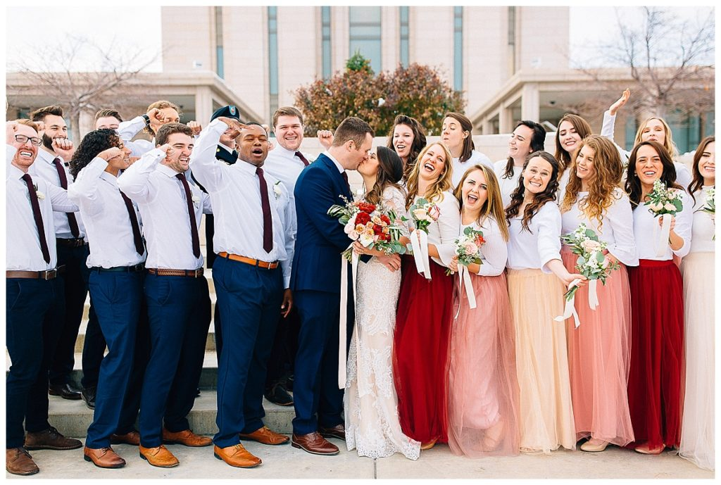 Patrick + Nicole | Oquirrh Mountain Temple Wedding