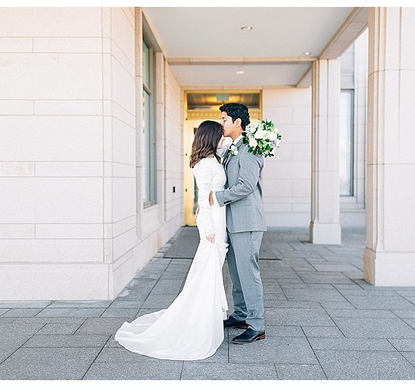 Oquirrh Mountain Temple Wedding | Utah Wedding Photographer