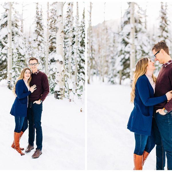 Big Cottonwood Canyon Engagements | Utah Wedding Photographer
