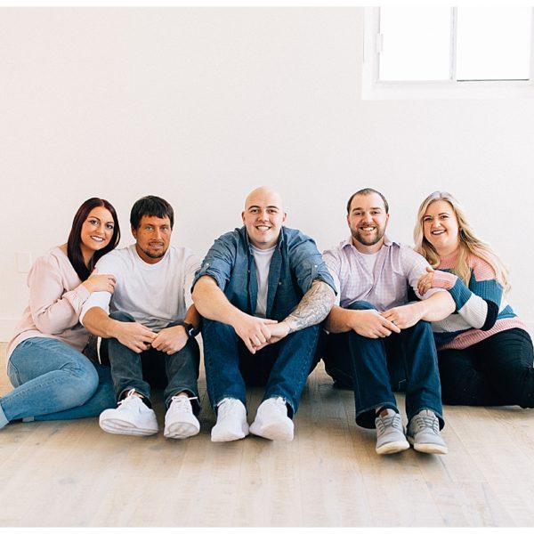 Studio Extended Family Session | Utah Photographer