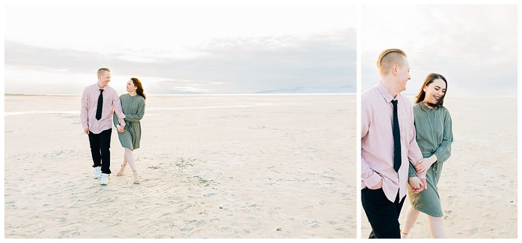 Brandon + Bree | Salt Air Engagement Session